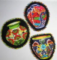 Southwestern Beaded Coasters