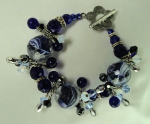 Blue Danube Bracelet