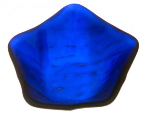Blue Star Dichroic Bowl