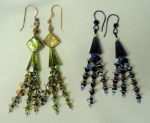 Rain Chains Earrings